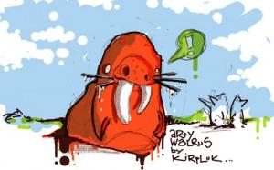 Arty Walrus as seen by Konrad Kirpluk